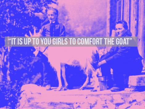 Goat Girls Art