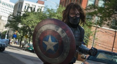 Captain America Winter Soldier Shield