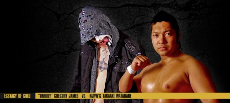 Takaaki Watanabe Inspire Pro Wrestling Unholy Gregory James