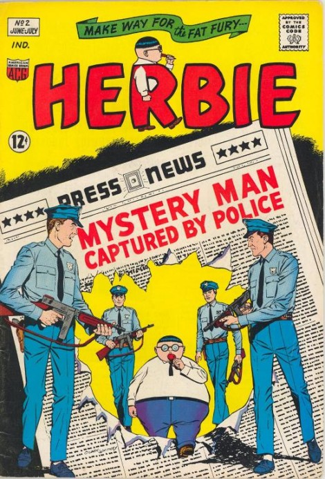 Herbie Ogden Whitney American Comics Group