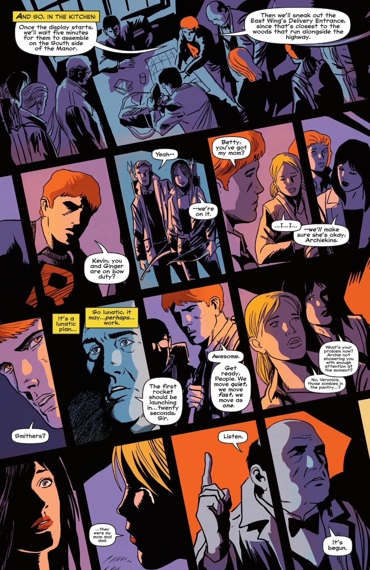 Anatomy of a Page: Afterlife with Archie #5