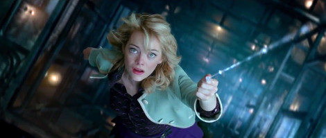 Amazing Spider Man 2 Gwen Stacy Webline 470x199 Faithful to a Fault: Where Amazing Spider Man 2 Went Wrong with Gwen Stacy