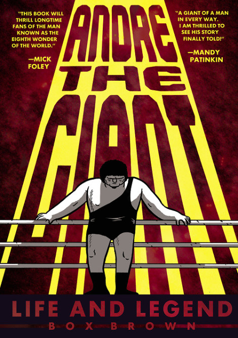 Andre the Giant Box Brown