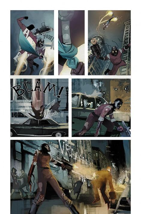 C.O.W.L Ron Reis Image Comics