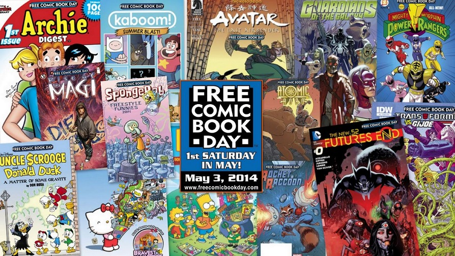 Free-Comic-Book-Day-2014
