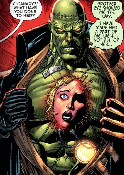Futures End Frankenstein Black Canary