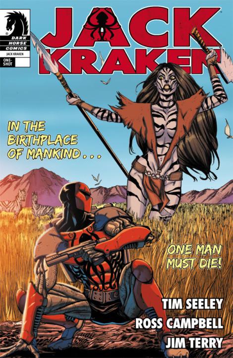 Jack Kraken Cover Dark Horse