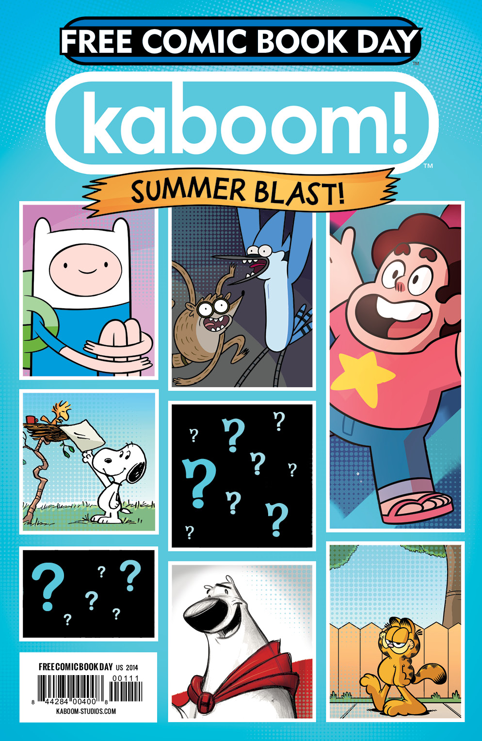 Kaboom Summer Blast Free Comic Book Day