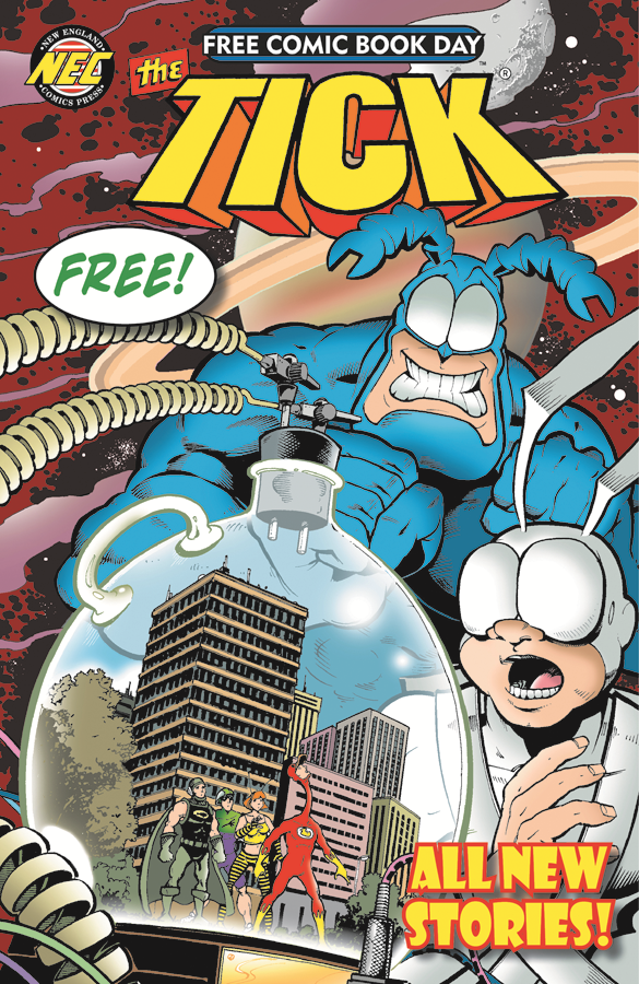 Tick Free Comic Book Day