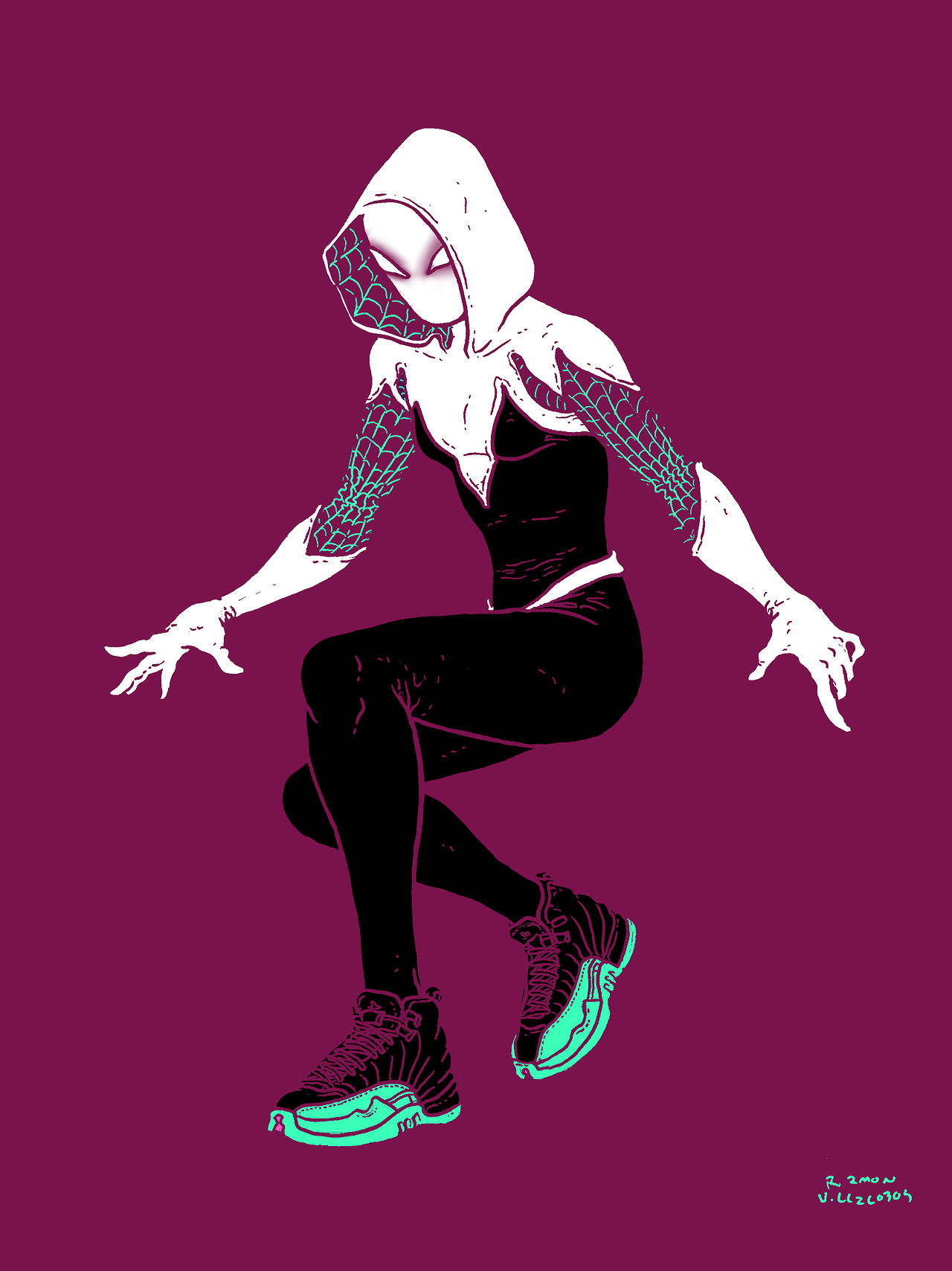 Spider-Woman Villalobos
