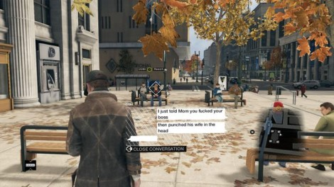 Watch Dogs Domestic Violence