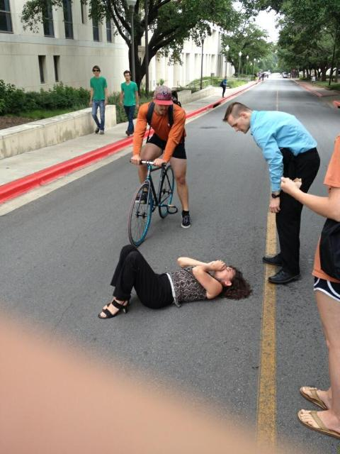 Breaking: What the Bicyclist That Crashed Into a Woman in Austin was Listening to