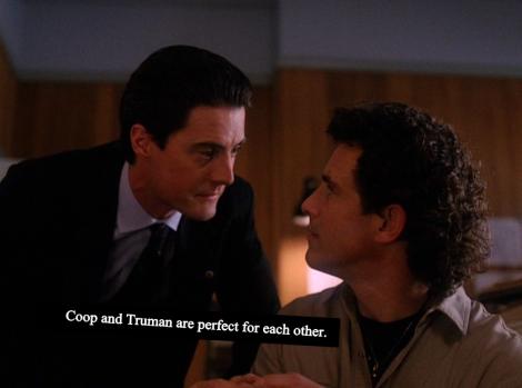 Twin Peaks Dale Cooper Harry S Truman