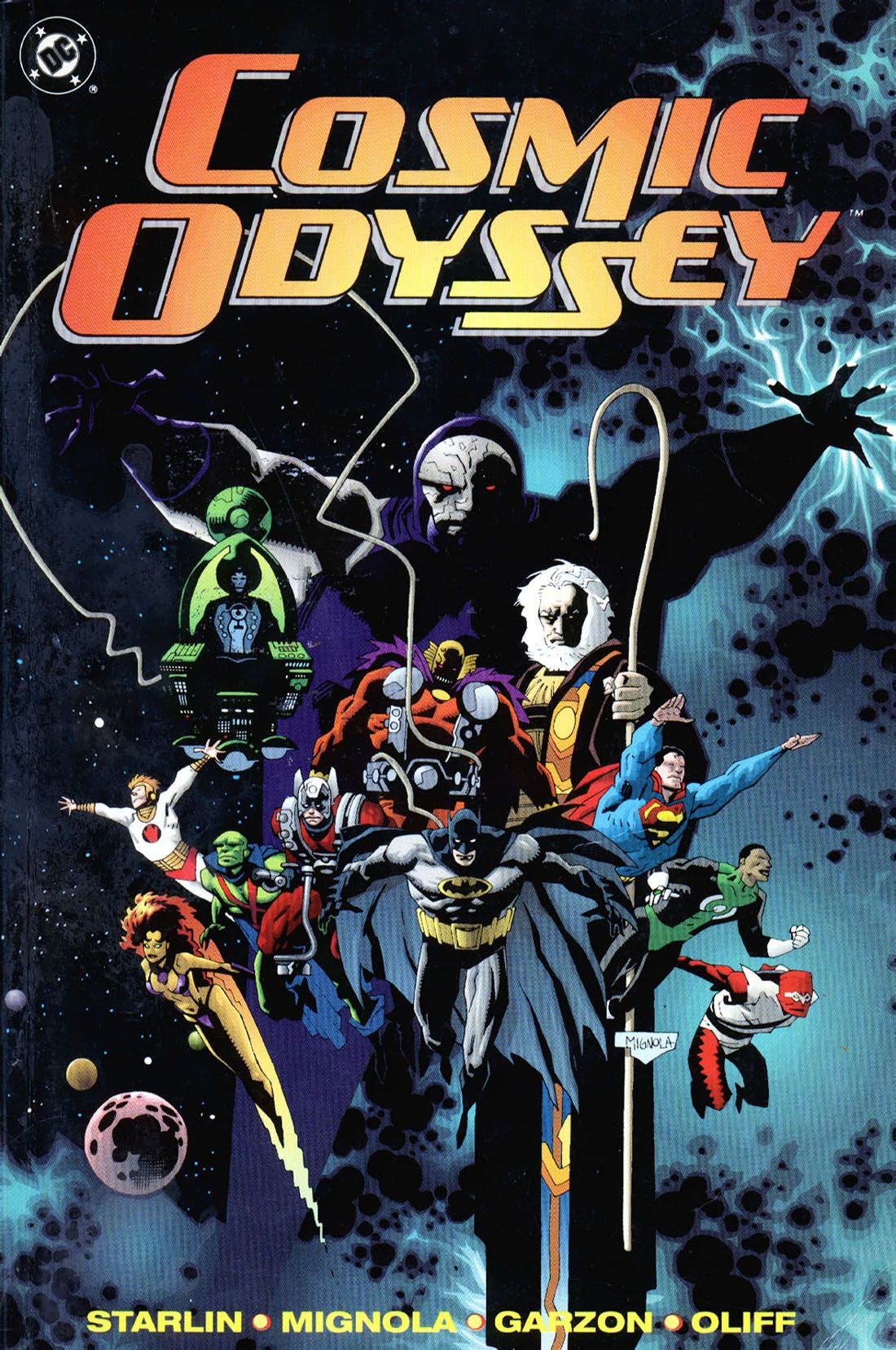 Yellowed Pages: Cosmic Odyssey Is Basically 24 by Way of Infinity Gauntlet