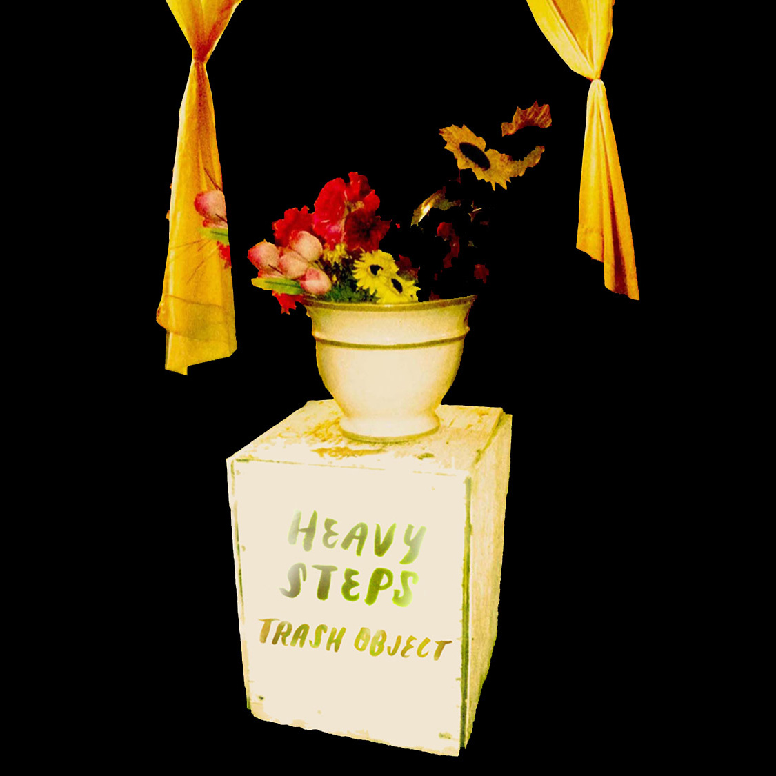 Heavy Steps Trash Object