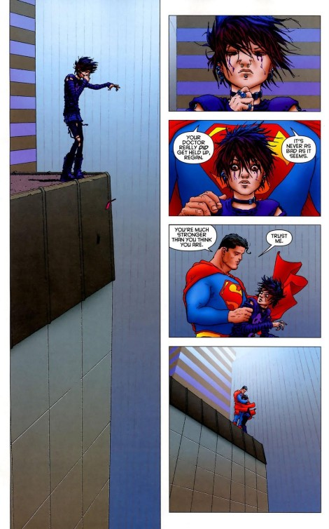 Morrison Quitely Superman Jumper