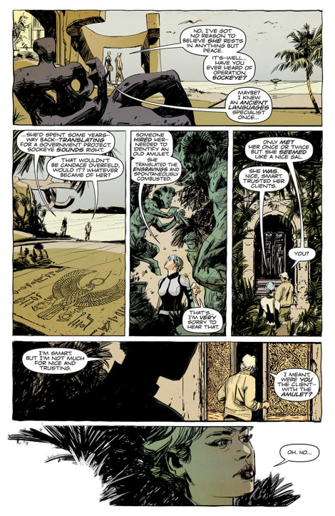 Doctor Mirage Jen van Meter Roberto de la Torre Valiant Comics