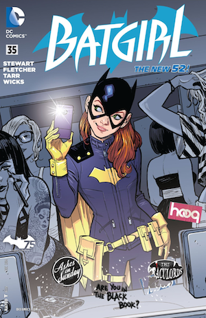 Batgirl 35 Stewart Fletcher Tarr Wicks