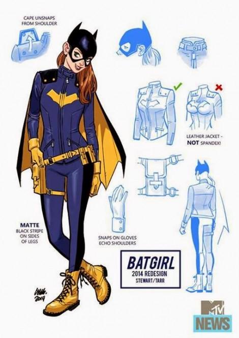 Initial Batgirl Sketch Stewart Tarr