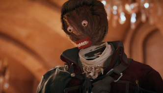 AC Unity Horrorface Glitch