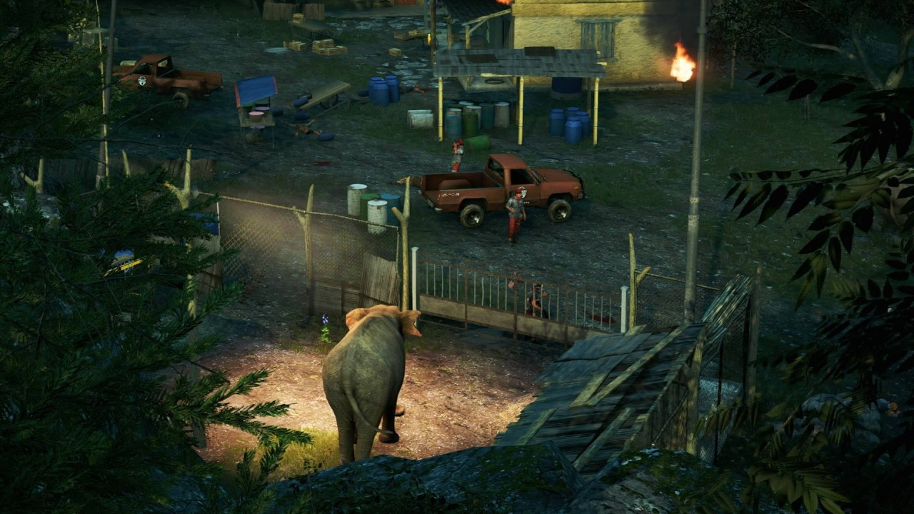 Far Cry 4 Elephant Outpost