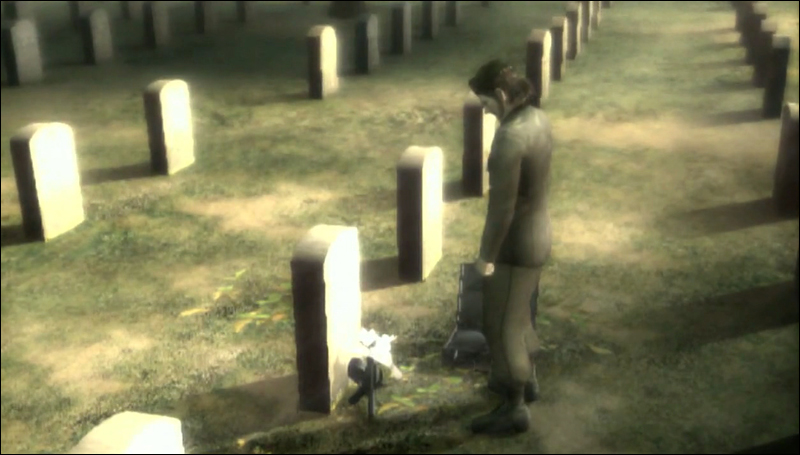 Big Boss At Grave