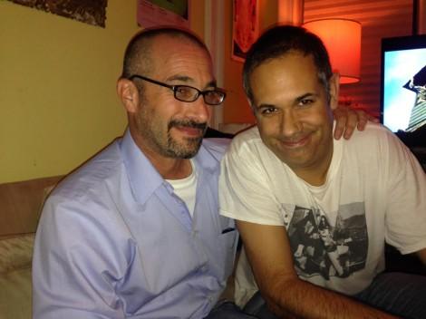 Daniel Elkin and Keith Silva at CAB