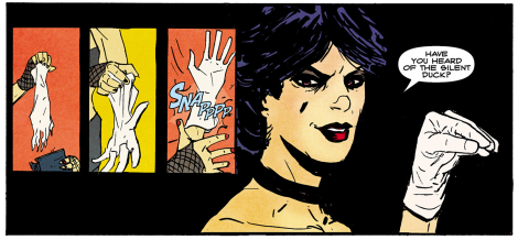 Jason Copland's work in Pop was heavily punk inspired, with Pete Toms' coloring aiding in giving it an '80s comics feel.