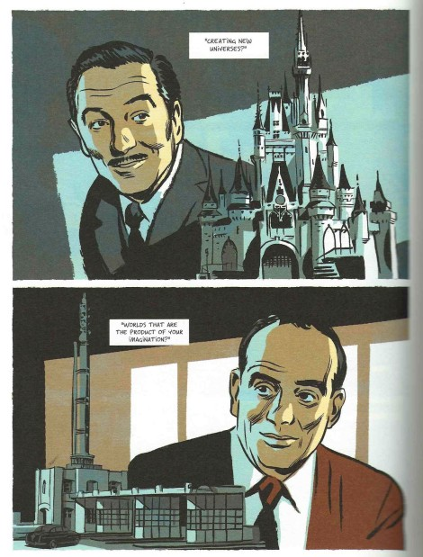 Robert Moses Walt Disney Nobrow