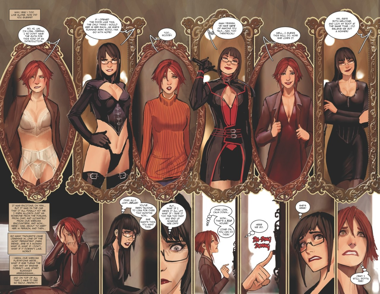 Fluid Exchange: Stjepan Sejic's Sunstone