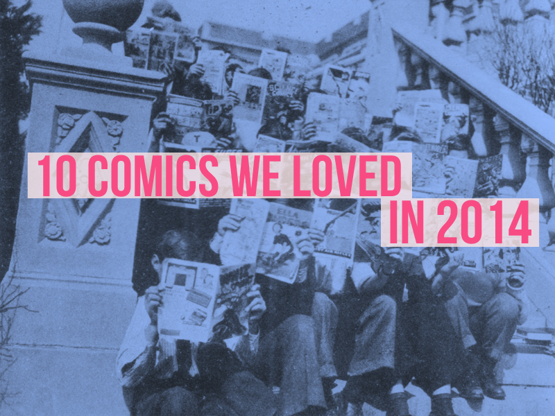 Erotic Agents, Multiverses and Pop Assassins: 10 Comics We Loved This Year