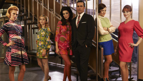 Mad Men Matt Weiner John Hamm 2014