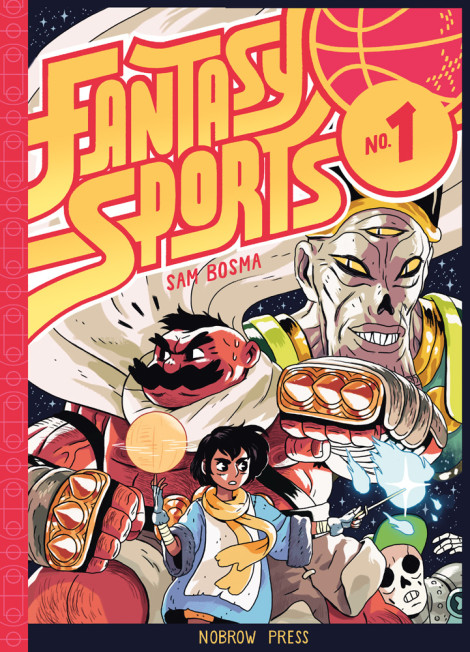 Fantasy Sports Sam Bosma Nobrow