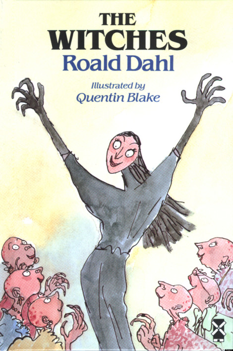 The Witches Roald Dahl Quentin Blake