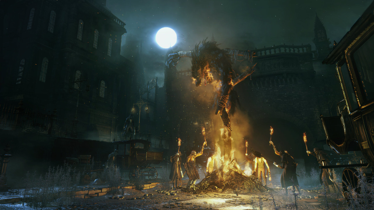 Bloodborne Logs: Being Hunted With Religious Fervor