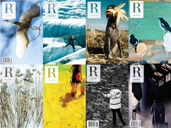 Poetry Magazine Rattle Expects Cover Artists to Work on Spec