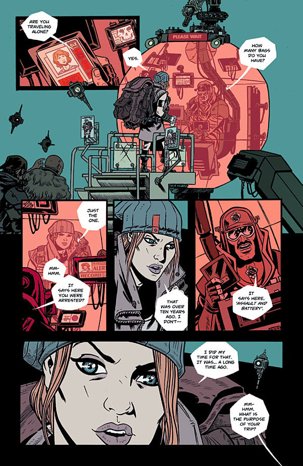 Advance Review: Southern Cross #1 by Becky Cloonan and Andy Belanger is Primed to Kill