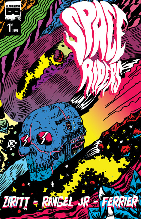 Space Riders Alexis Ziritt