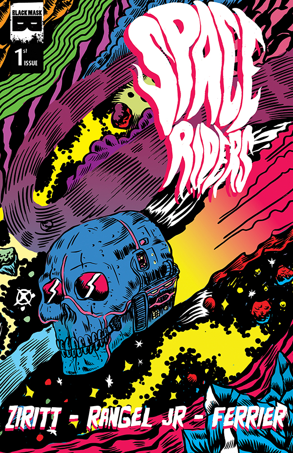 Advanced Review: Space Riders #1