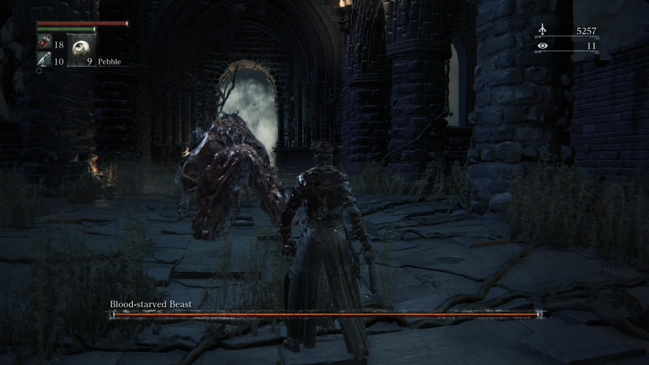 Bloodborne-blood-starved-beast