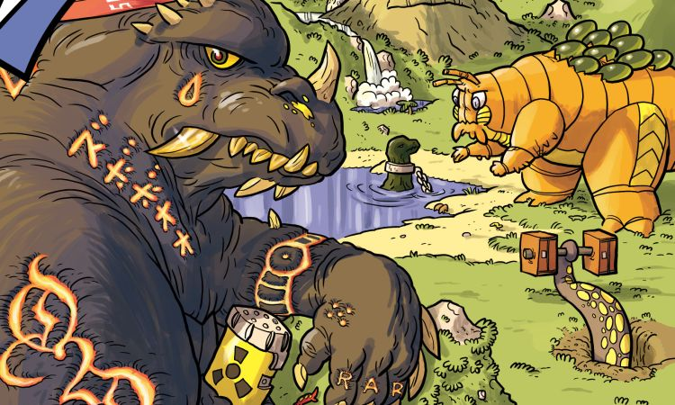 Menaces to Society: Kaijumax is a Surprisingly Deep Monster Story