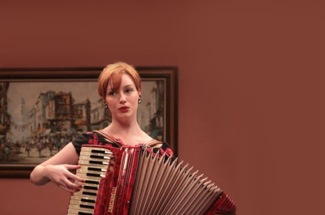 Mad Men Joan Accordion