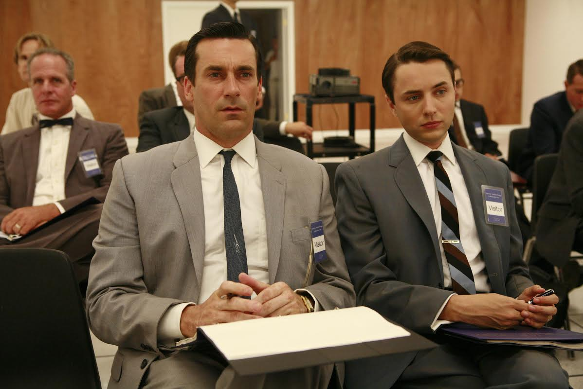 Mad Men Pete Campbell Don Draper