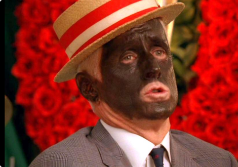 Mad Men Sterling Blackface