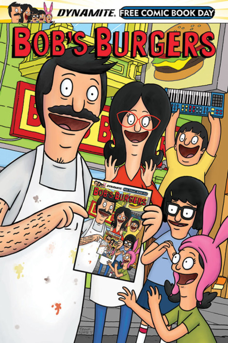 Bob's Burgers Free Comic Book Day