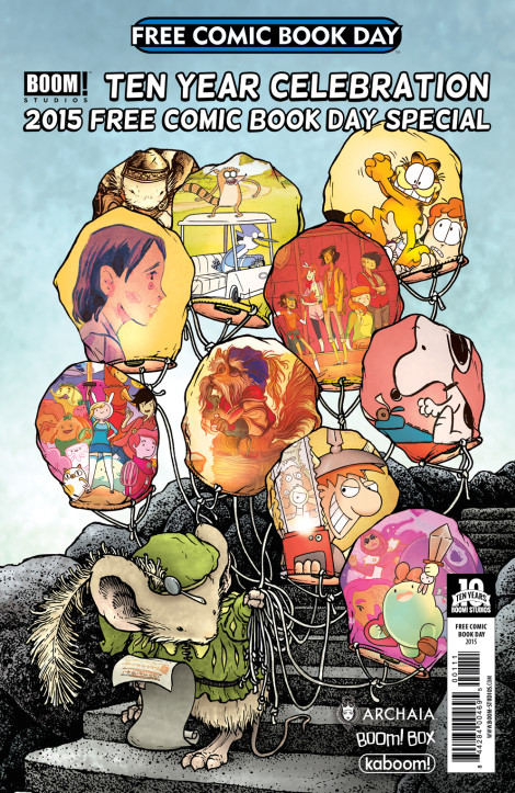 Boom Studios Ten Year Celebration