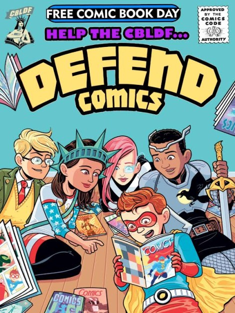 Defend Comics Free Comic Book Day