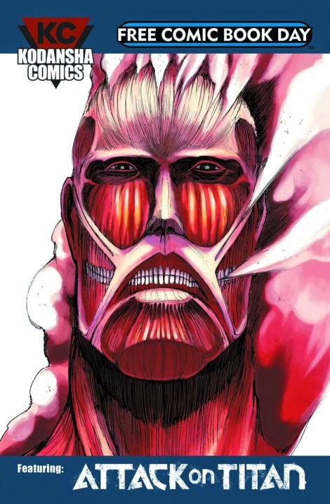 Kodansha Free Comic Book Day Sampler
