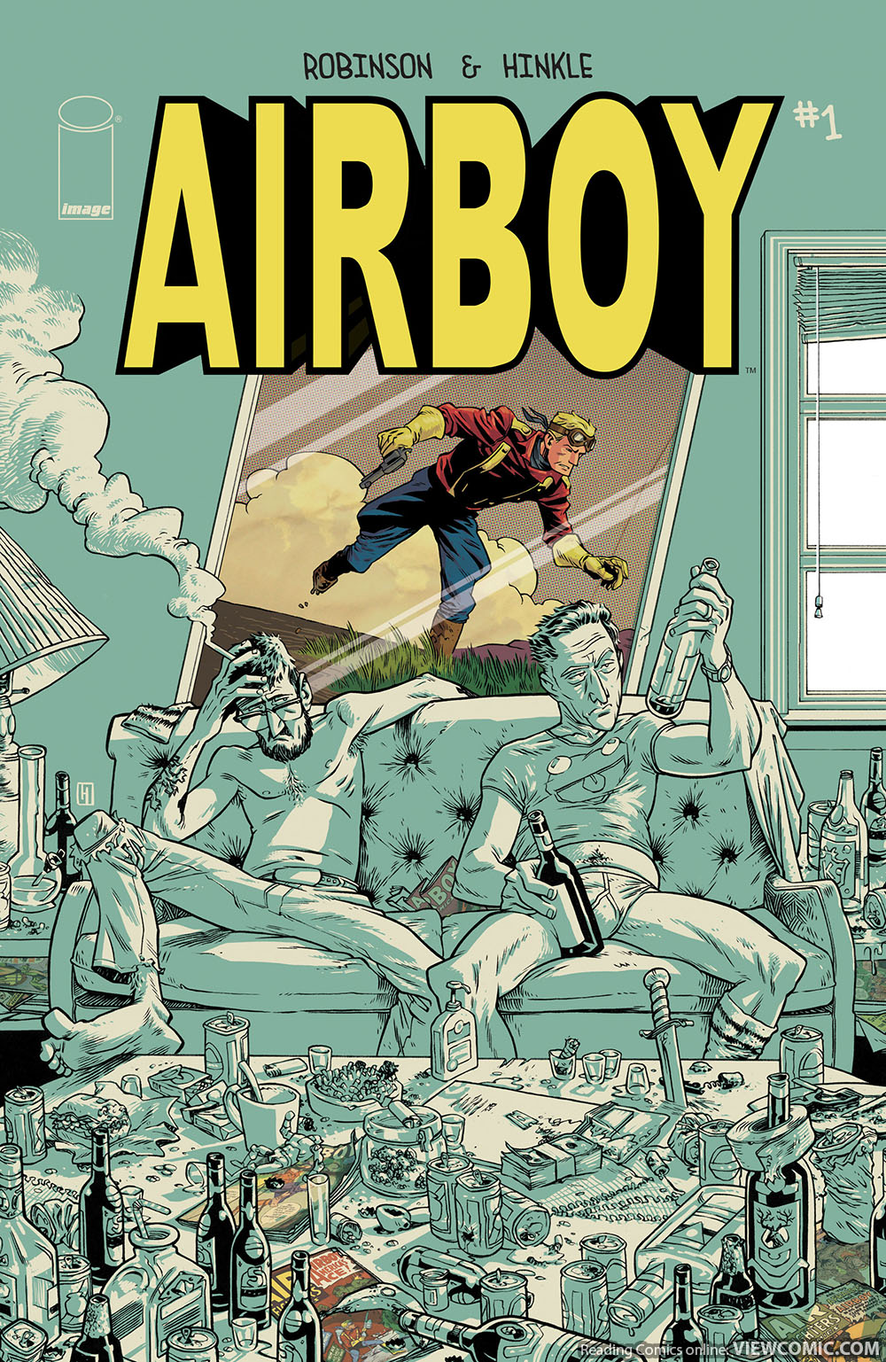 Dicks Hate Comics: Airboy is Entourage for Middle Aged Comics Creators