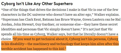 Cyborg David Walker